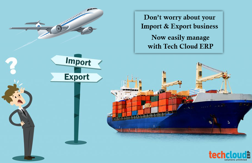 ERP for import & Export in India